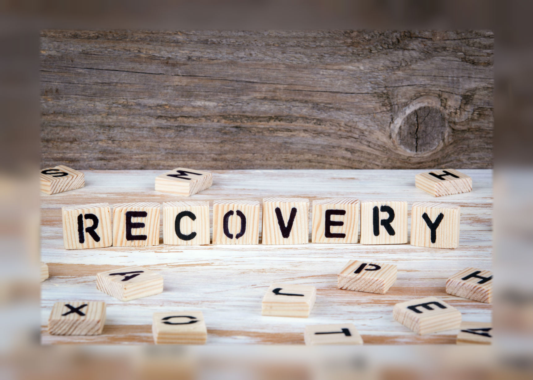 "We help you spell ""recovery."""